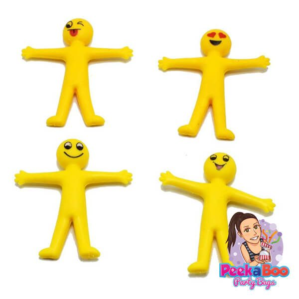 stretchy emoji figures party bags