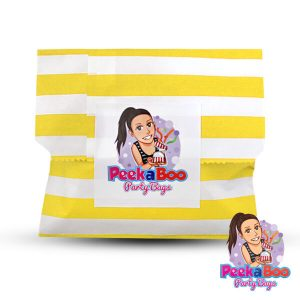unisex party bag yellow yabbla